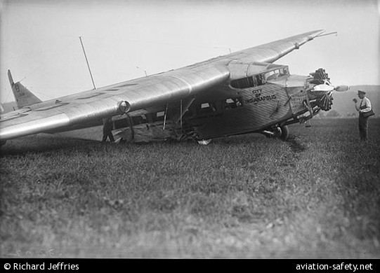Photo Of Ford 5 At B Tri Motor Nc9647 Aviation Safety