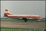 photo of Vickers 701 Viscount G-AMOA
