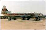 photo of Vickers 838 Viscount SE-FOZ