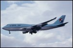 photo of Boeing 747-4B5 HL7496