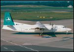 photo of Fokker 50 LX-LGB