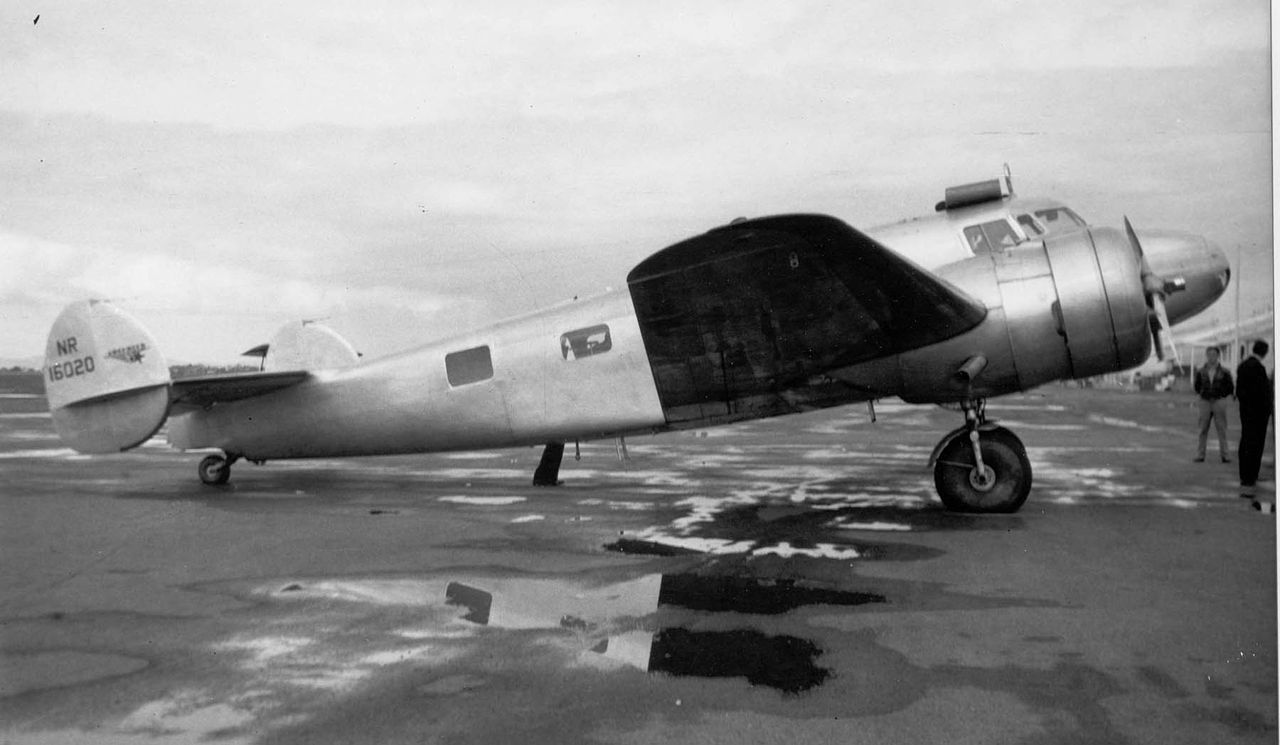 accident lockheed 10e electra special nr16020 02 jul 1937