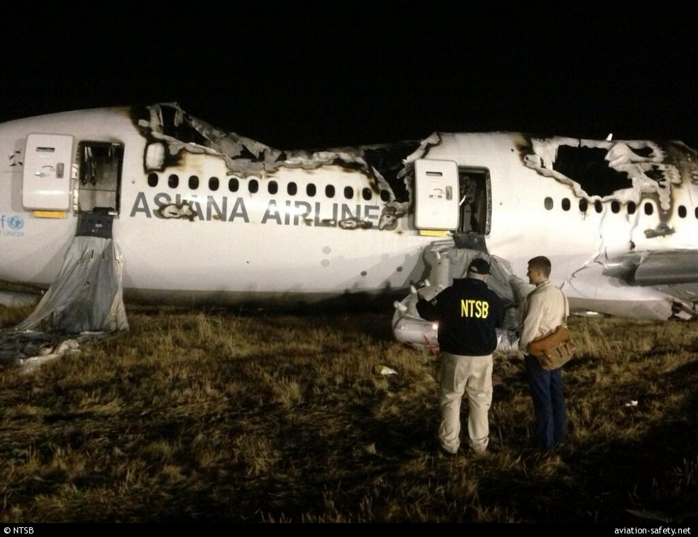 ASN Aircraft accident Boeing 777-28EER HL7742 San Francisco ...