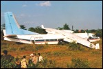 photo of aircraft accident