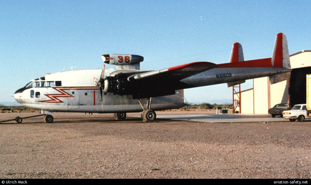 ASN Aircraft accident Fairchild C-119 Flying Boxcar N15509 ...