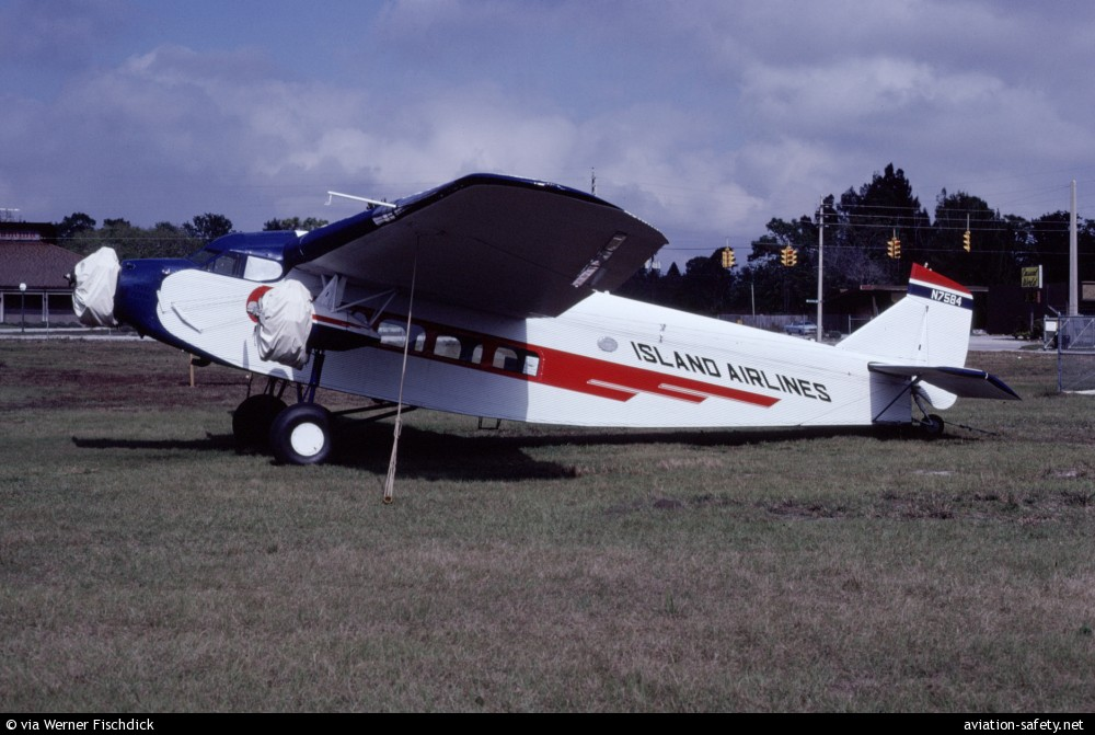 Asn Aircraft Accident Ford 4 At B Tri Motor N7584