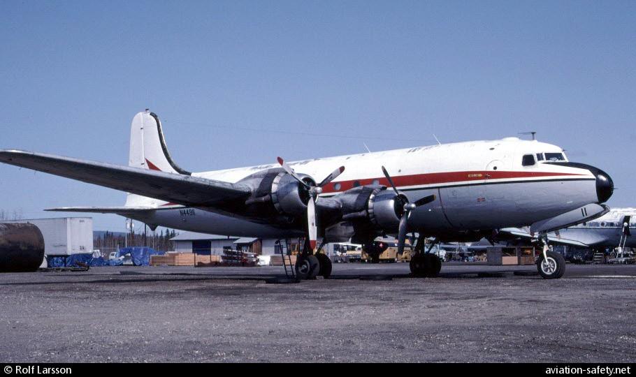 ASN Aircraft accident Douglas C-54P (DC-4) N44911 Ganes Creek, AK